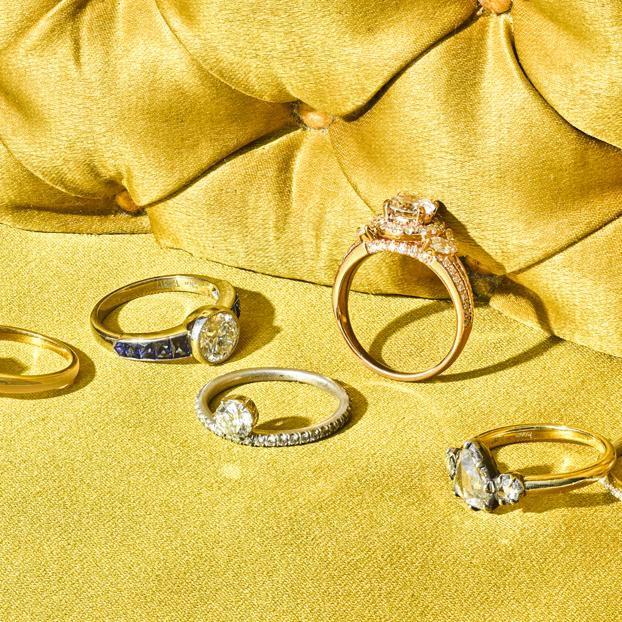 Consider The 4Cs While Choosing Chocolate Diamond Engagement Rings